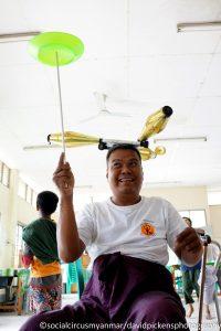 Social Circus Myanmar 2016-17 Ko Pho Ke